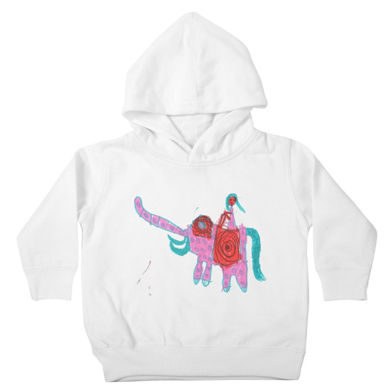 Elephant Rider Kids Toddler Pullover Hoody by The Life of Curiosity Store
