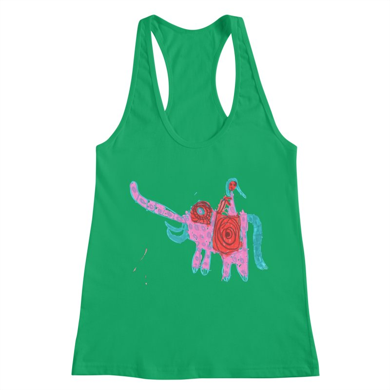 Elephant Rider Women's Tank by The Life of Curiosity Store