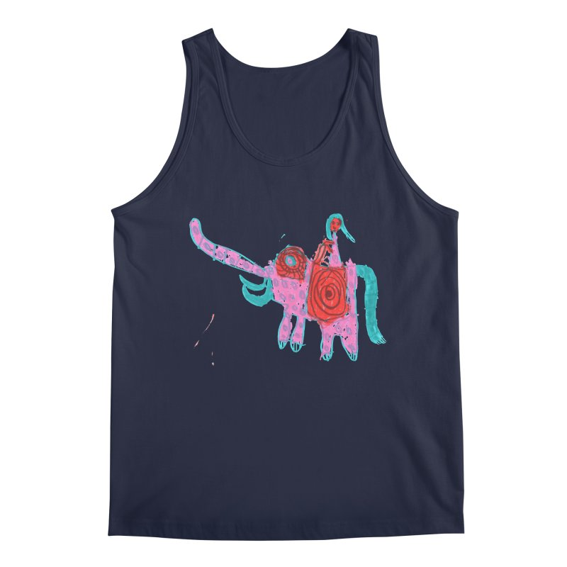 Elephant Rider Men's Regular Tank by The Life of Curiosity Store