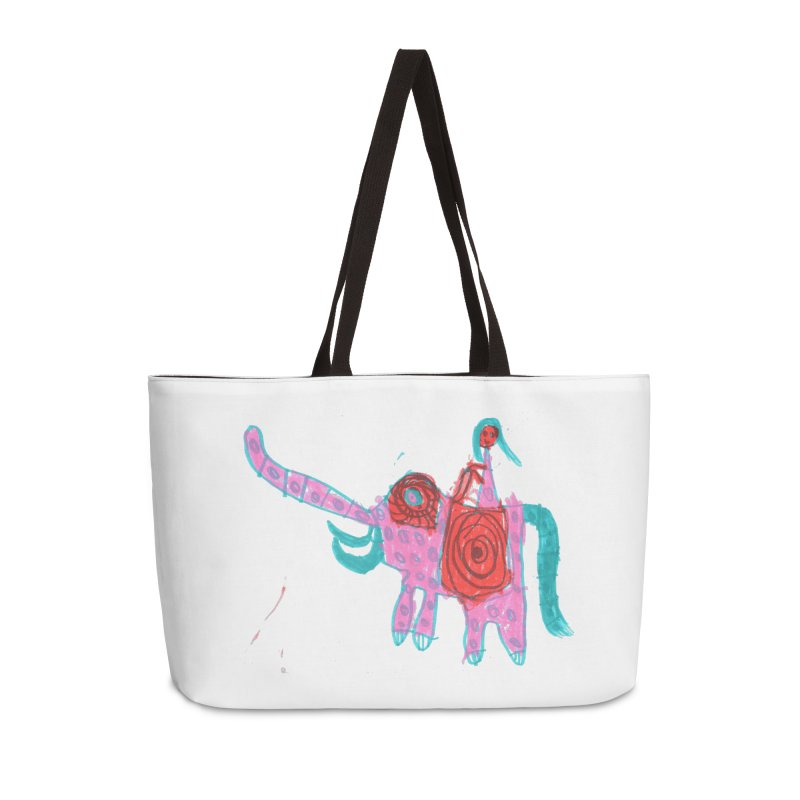 Elephant Rider Accessories Weekender Bag Bag by The Life of Curiosity Store