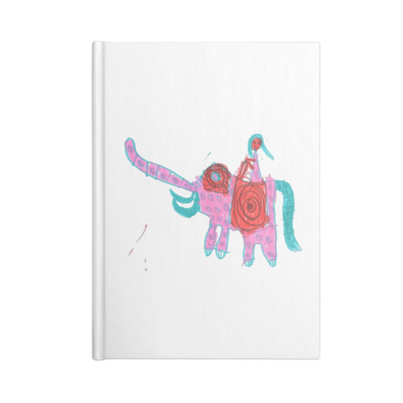 Elephant Rider Accessories Notebook by The Life of Curiosity Store