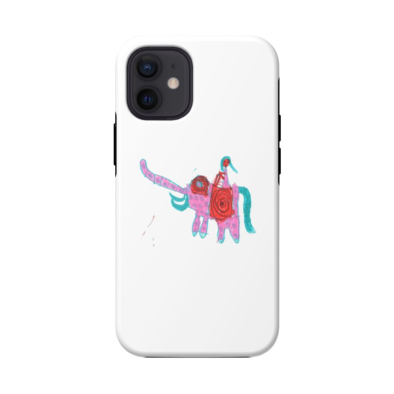 Elephant Rider Accessories Phone Case by The Life of Curiosity Store