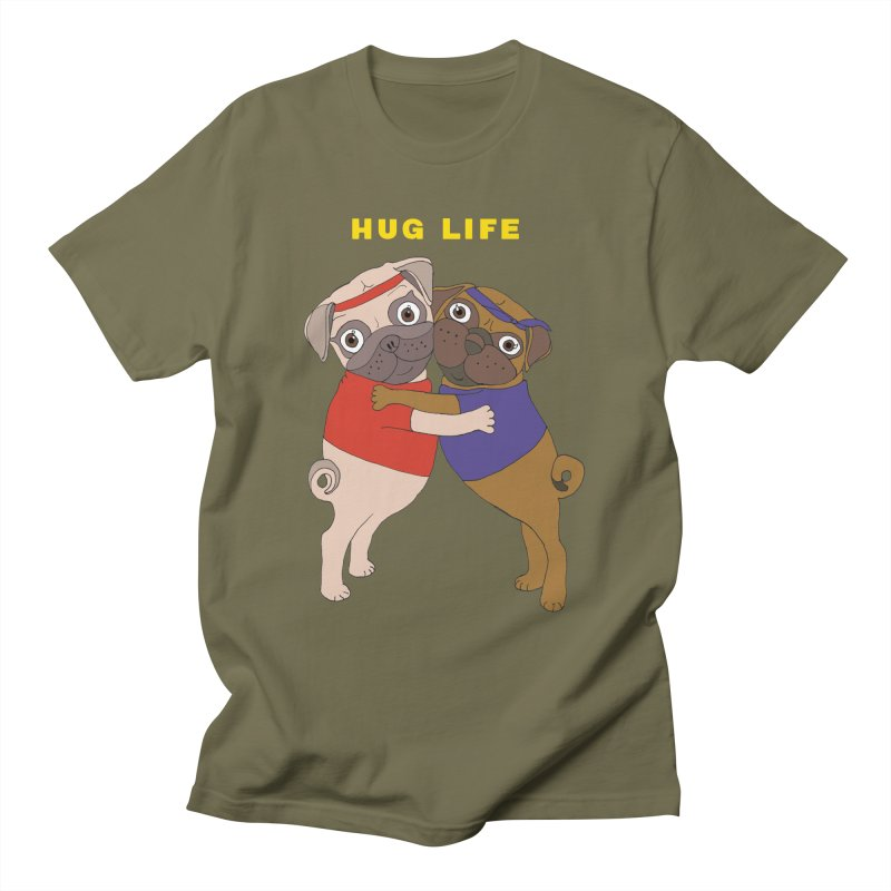 Hug Life Men's T-Shirt by LiftYourWorld's Artist Shop