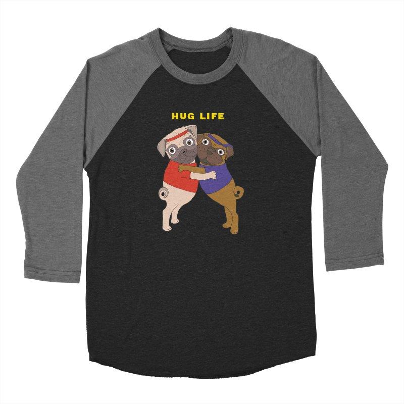 Hug Life Women's Longsleeve T-Shirt by LiftYourWorld's Artist Shop