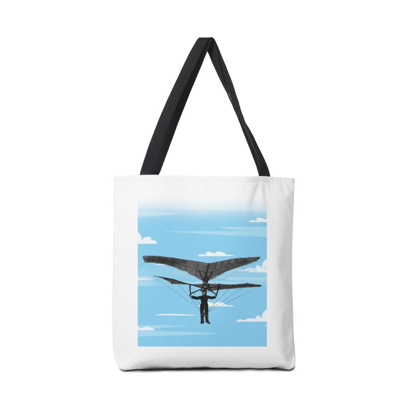 Exploring in the Clouds Accessories Bag by LiftYourWorld's Artist Shop