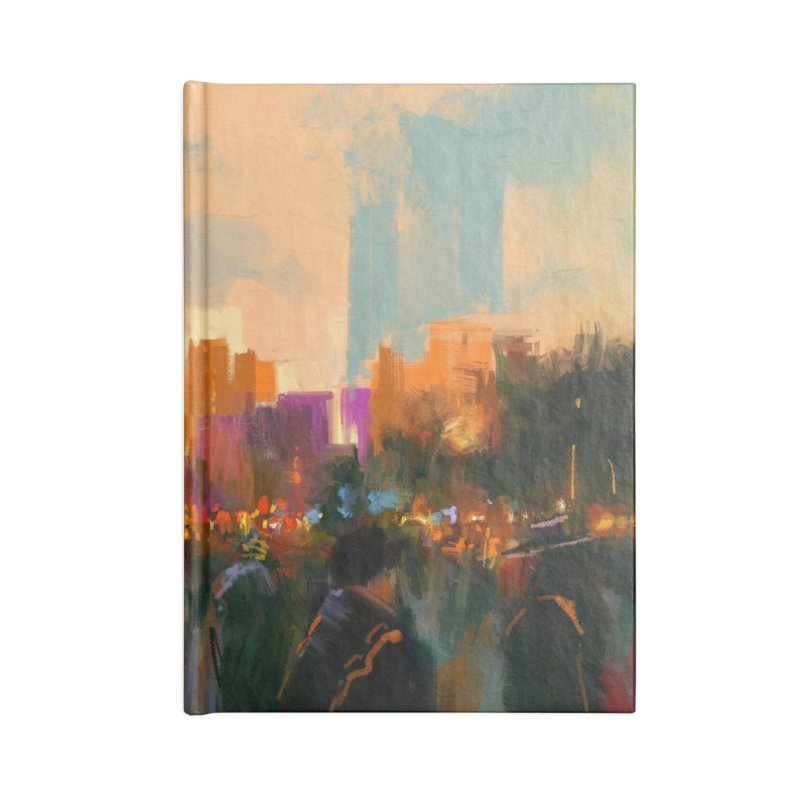 Urban Sunset Accessories Notebook by LiftYourWorld's Artist Shop