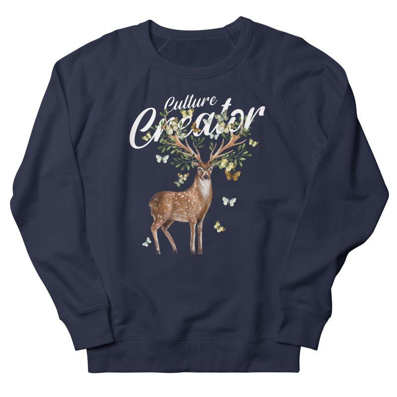 Culture Creator with Deer Women's Sweatshirt by LiftYourWorld's Artist Shop