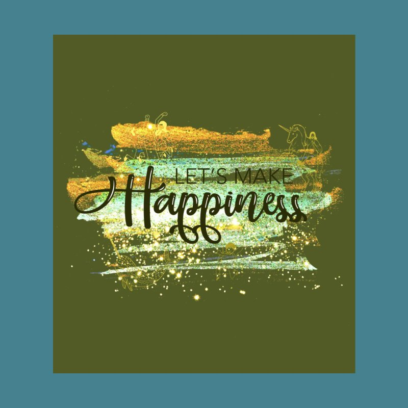 Let's Make Happiness Tote Bag Accessories Bag by LiftYourWorld's Artist Shop