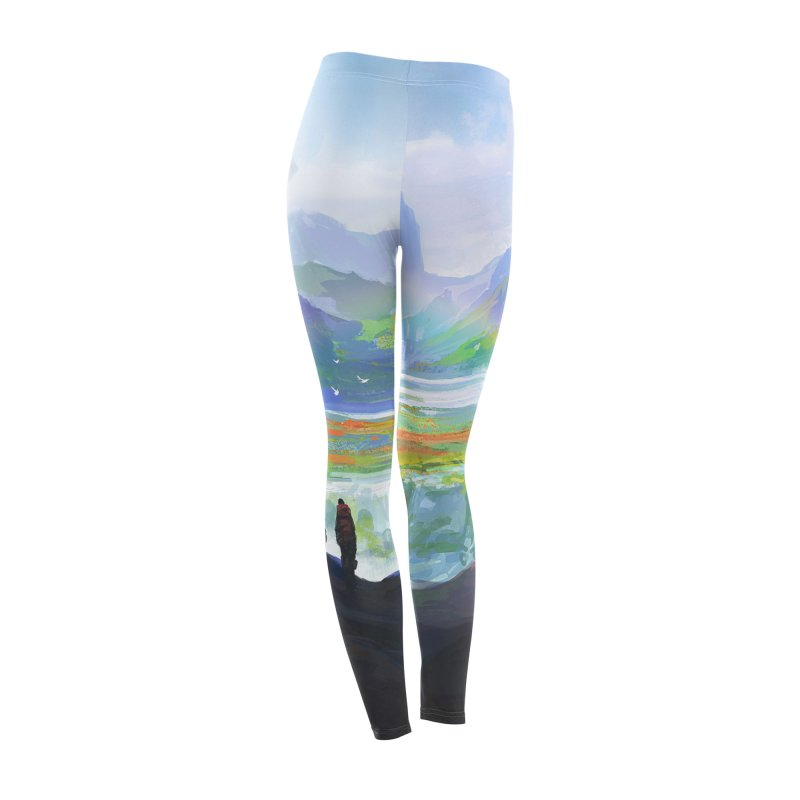 Sublime Connection Leggings Women's Bottoms by LiftYourWorld's Artist Shop