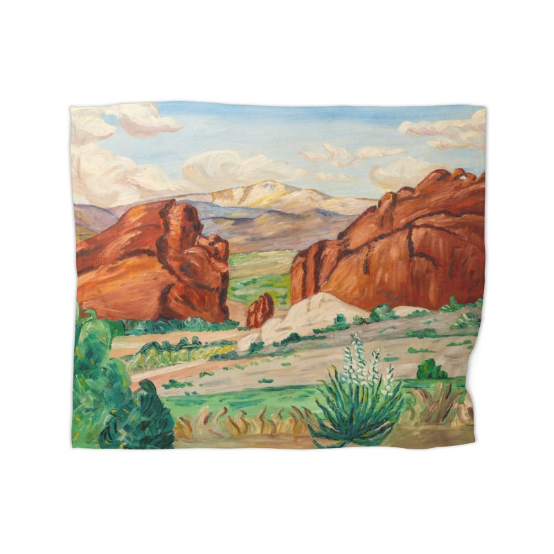 Western Landscape Leggings Home Blanket by LiftYourWorld's Artist Shop