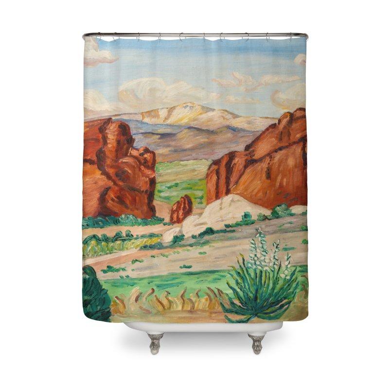 Western Landscape Leggings Home Shower Curtain by LiftYourWorld's Artist Shop