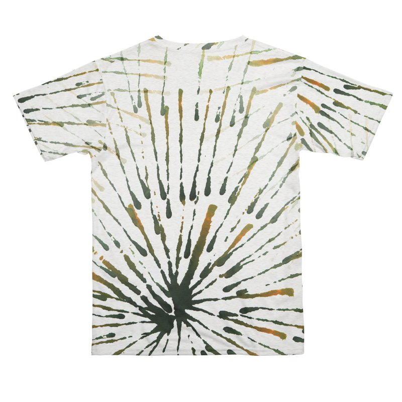 Green and Yellow Dandelions Men's Cut & Sew by LiftYourWorld's Artist Shop