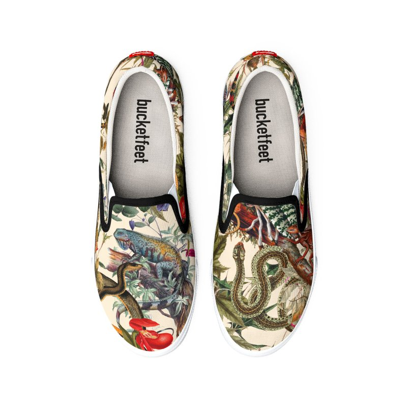 Snake Shoes Men's Shoes by LiftYourWorld's Artist Shop