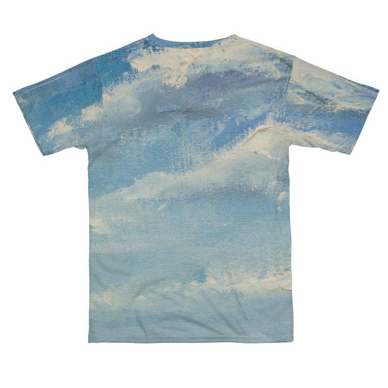 Clouds_Blue_v4 Women's Cut & Sew by LiftYourWorld's Artist Shop