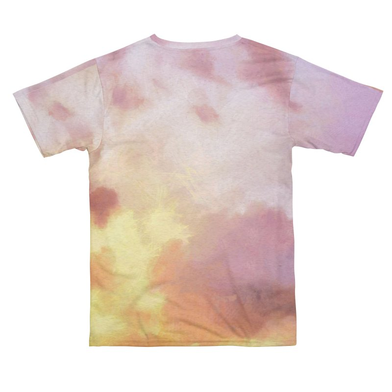 Clouds at Sunset on a Warm Day Women's Cut & Sew by LiftYourWorld's Artist Shop
