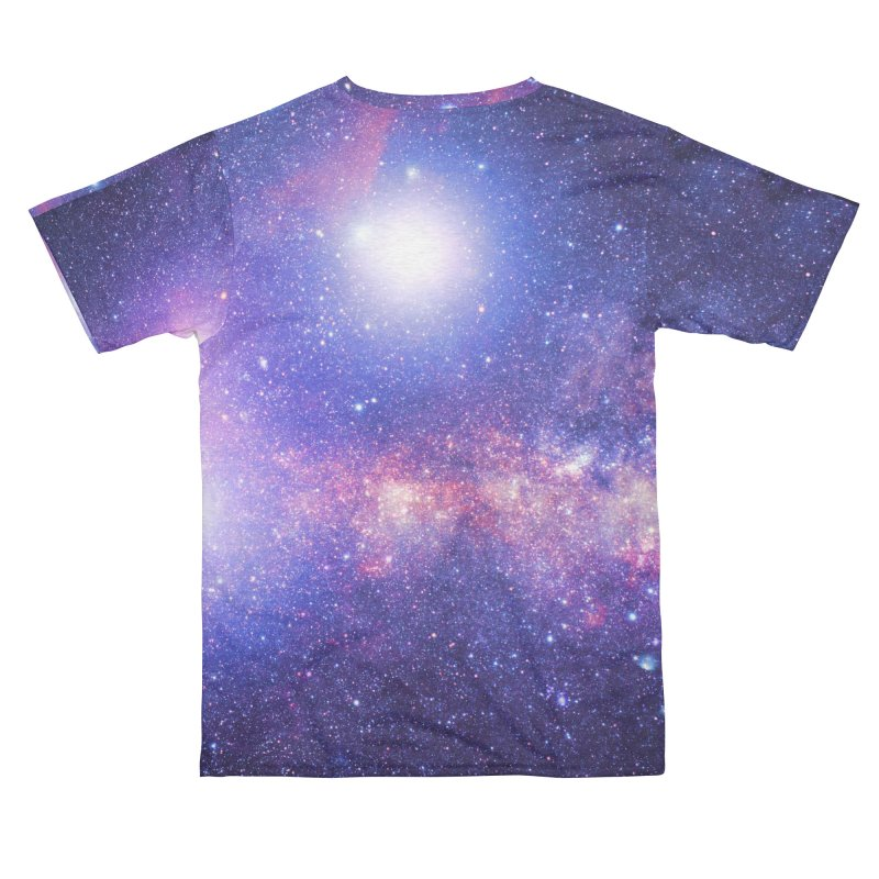 Stars and Galaxy Purple and Pink Space Women's Cut & Sew by LiftYourWorld's Artist Shop