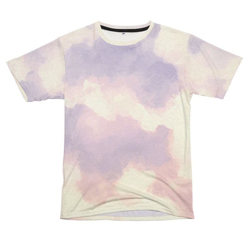 Clouds purple and pink Shirt Women's Cut & Sew by LiftYourWorld's Artist Shop