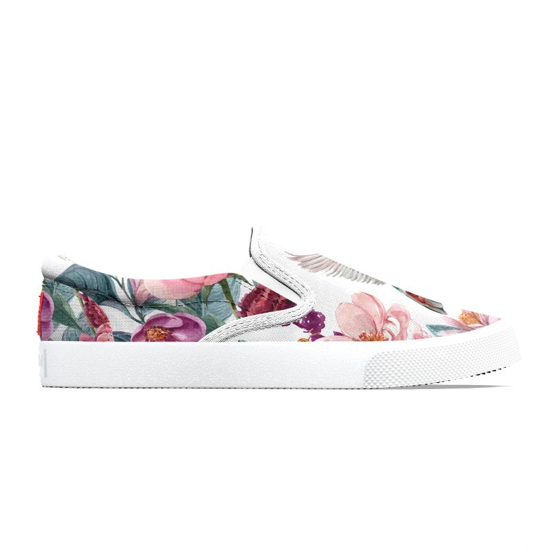 Hummingbird, bee, and flowers Men's Shoes by LiftYourWorld's Artist Shop