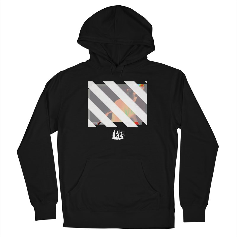 Lilo Key - Lifestyle  in Men's French Terry Pullover Hoody Black by GOD HELP THE REST - Lilo Key Official Merch