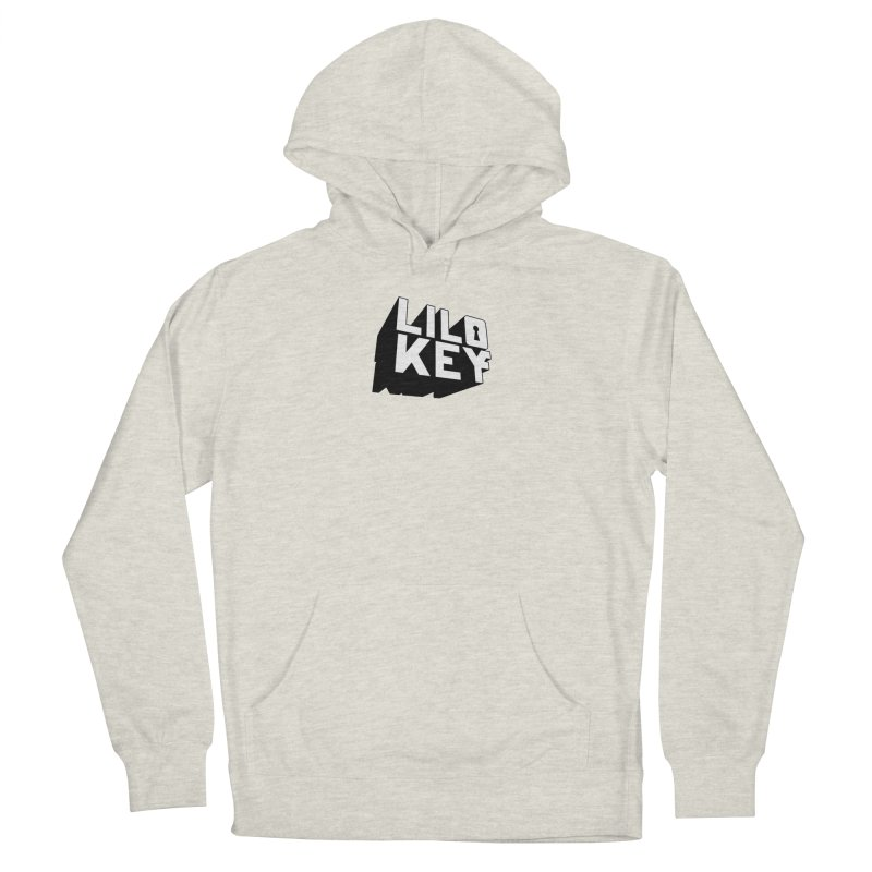 Lilo Key Basic Logo Men's French Terry Pullover Hoody by GOD HELP THE REST - Lilo Key Official Merch