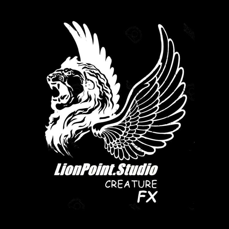Lionpoint.Studio Creature  FX Men's T-Shirt by LionPoint.Studio FX