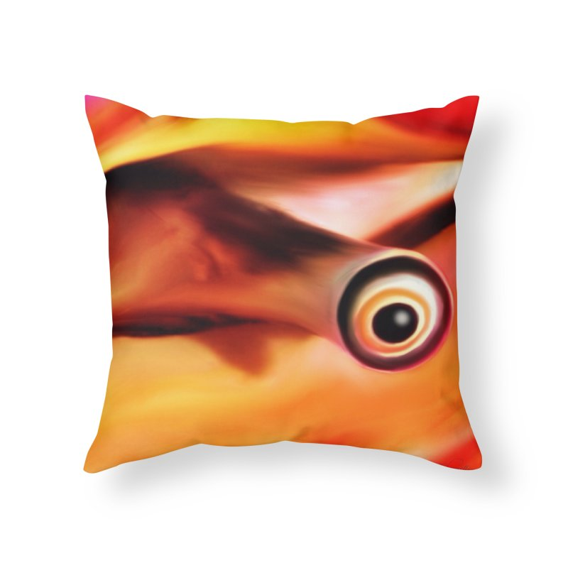 Conch That in Throw Pillow by LIQUID MOTION® Fine Art - Ocean & Marine Gifts & P