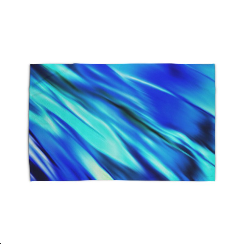 The Flow in Rug by LIQUID MOTION® Fine Art - Ocean & Marine Gifts & P