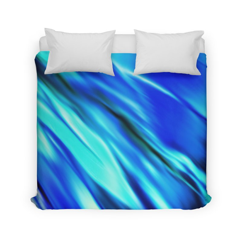 The Flow in Duvet by LIQUID MOTION® Fine Art - Ocean & Marine Gifts & P