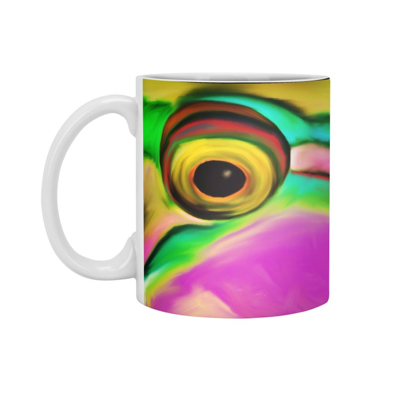 parrot in Standard Mug White by LIQUID MOTION® Fine Art - Ocean & Marine Gifts & P