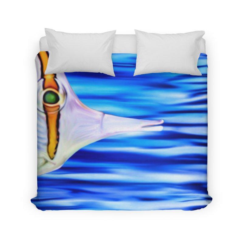 Butterfly - Long beaked Butterflyfish in Duvet by LIQUID MOTION® Fine Art - Ocean & Marine Gifts & P