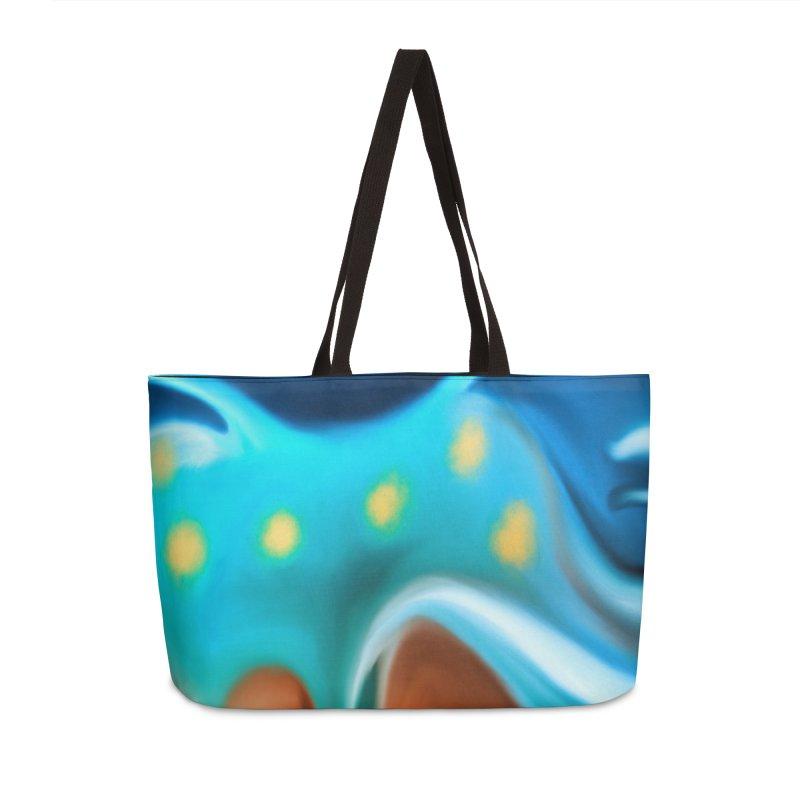 Night Nudi in Weekender Bag by LIQUID MOTION® Fine Art - Ocean & Marine Gifts & P