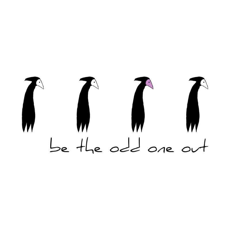 be the odd one out Women's Sweatshirt by The Little Fears