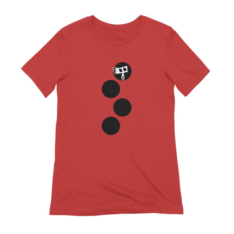 Sprites Dots Women's Extra Soft T-Shirt by The Little Fears