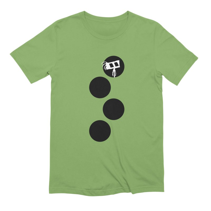 Sprites Dots Men's Extra Soft T-Shirt by The Little Fears