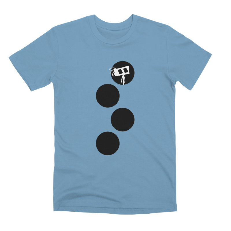 Sprites Dots Men's Premium T-Shirt by The Little Fears
