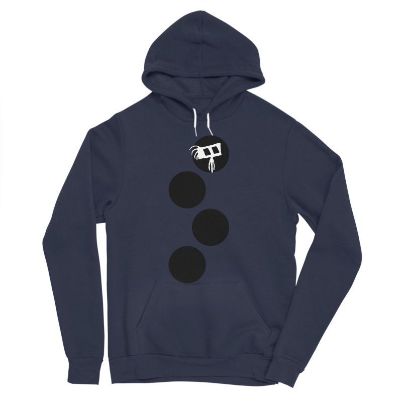 Sprites Dots Men's Sponge Fleece Pullover Hoody by The Little Fears