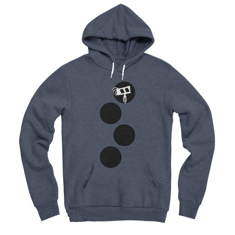 Sprites Dots Men's Sponge Fleece Pullover Hoody by The Little Fears