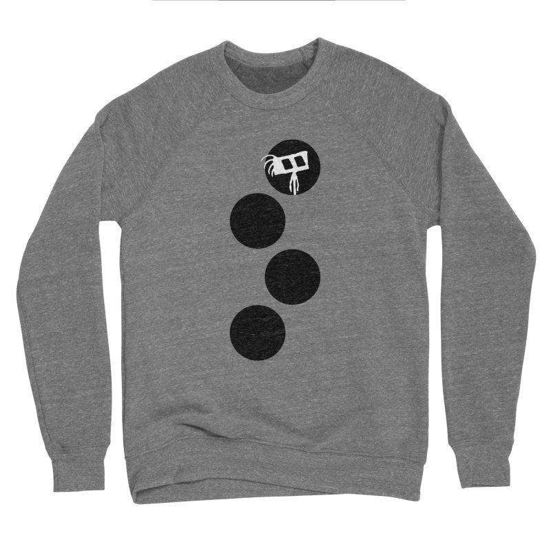 Sprites Dots Men's Sponge Fleece Sweatshirt by The Little Fears