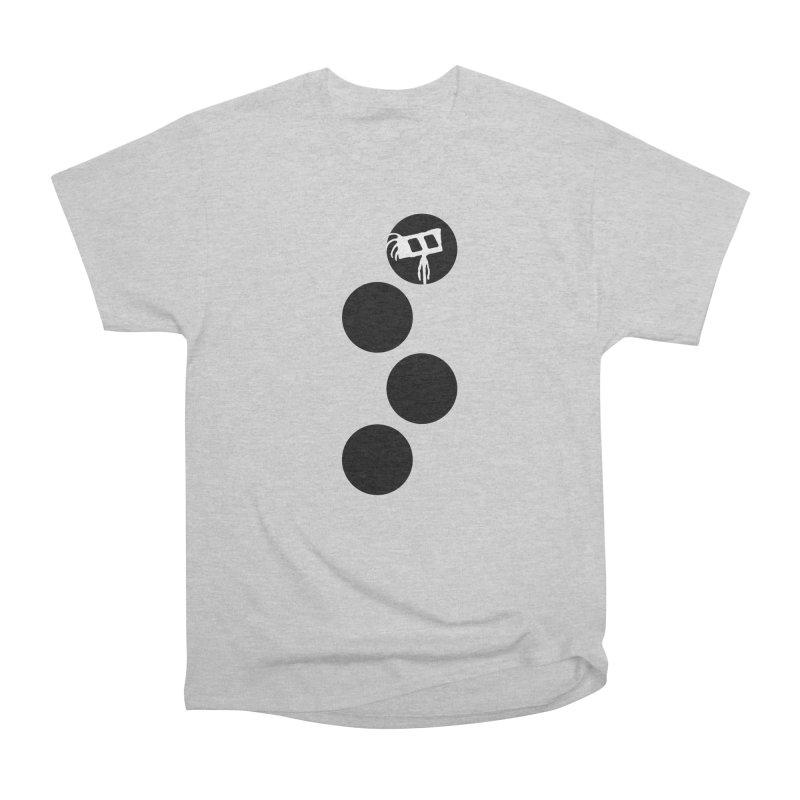 Sprites Dots Women's Heavyweight Unisex T-Shirt by The Little Fears