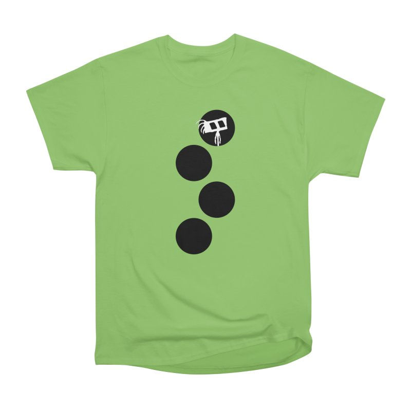 Sprites Dots Men's Heavyweight T-Shirt by The Little Fears