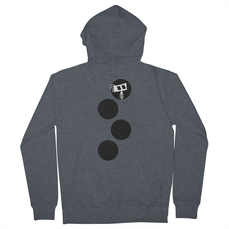 Sprites Dots Women's French Terry Zip-Up Hoody by The Little Fears