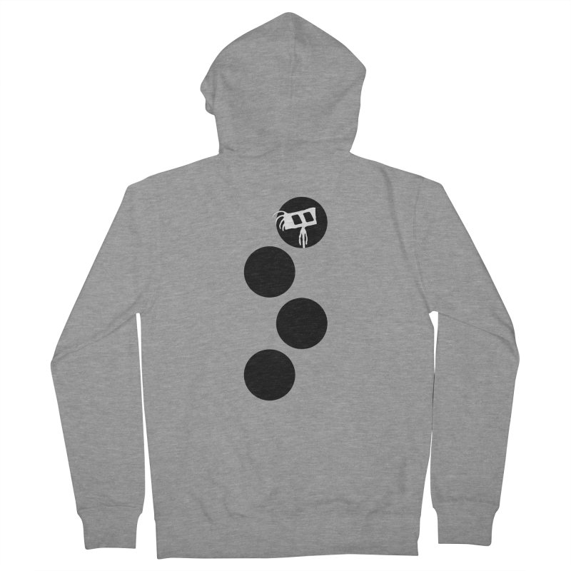 Sprites Dots Men's French Terry Zip-Up Hoody by The Little Fears