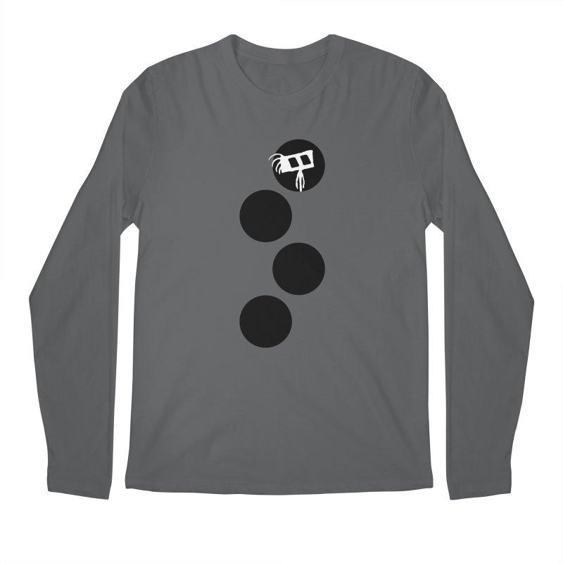 Sprites Dots Men's Longsleeve T-Shirt by The Little Fears