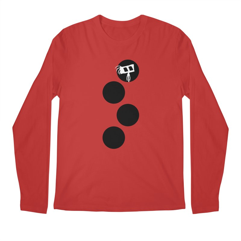 Sprites Dots Men's Regular Longsleeve T-Shirt by The Little Fears