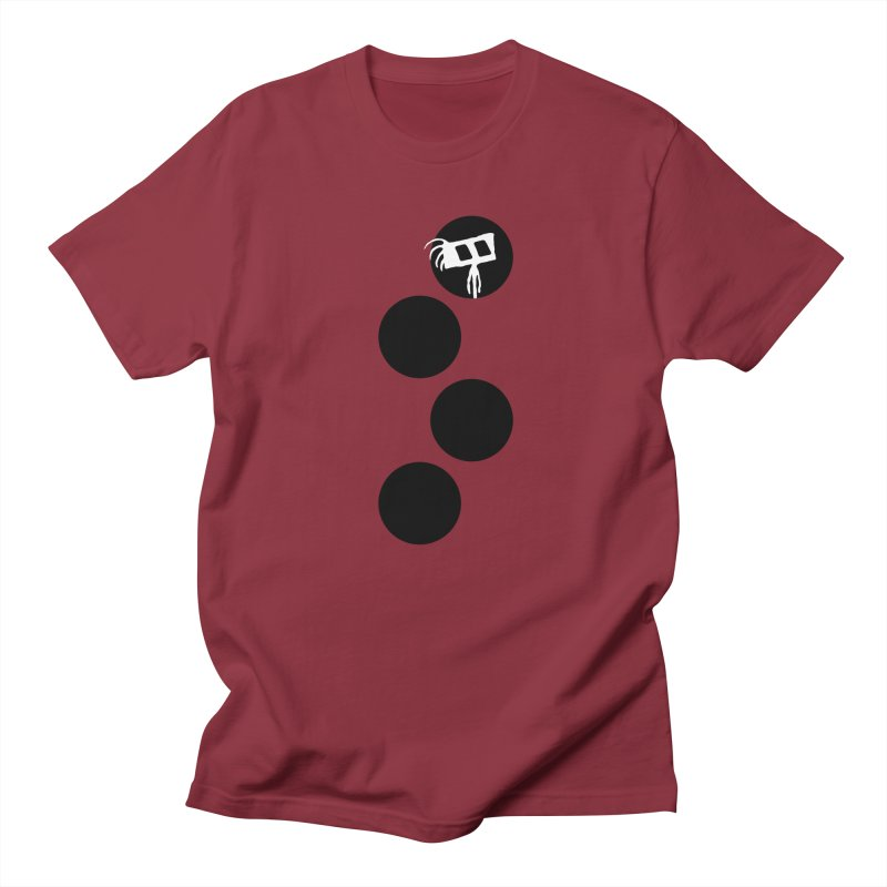 Sprites Dots Men's Regular T-Shirt by The Little Fears