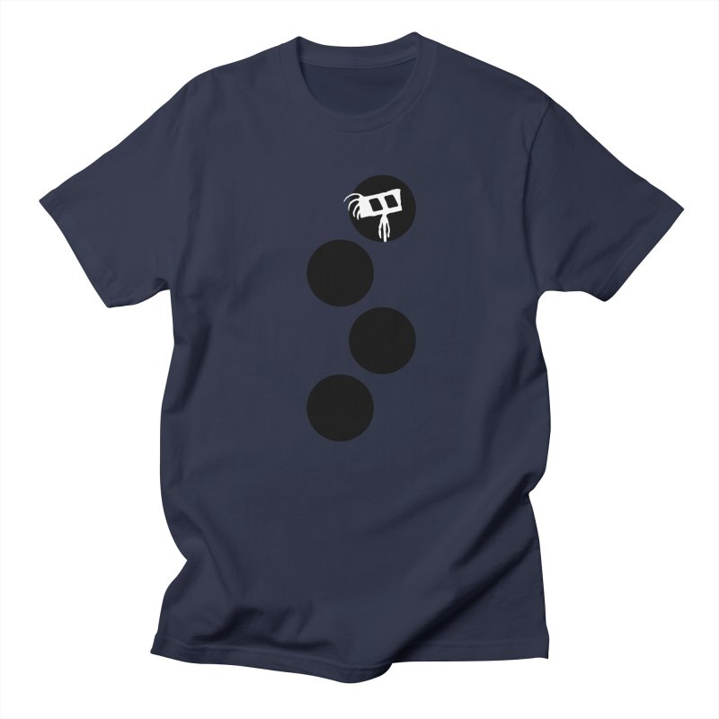 Sprites Dots Women's Regular Unisex T-Shirt by The Little Fears