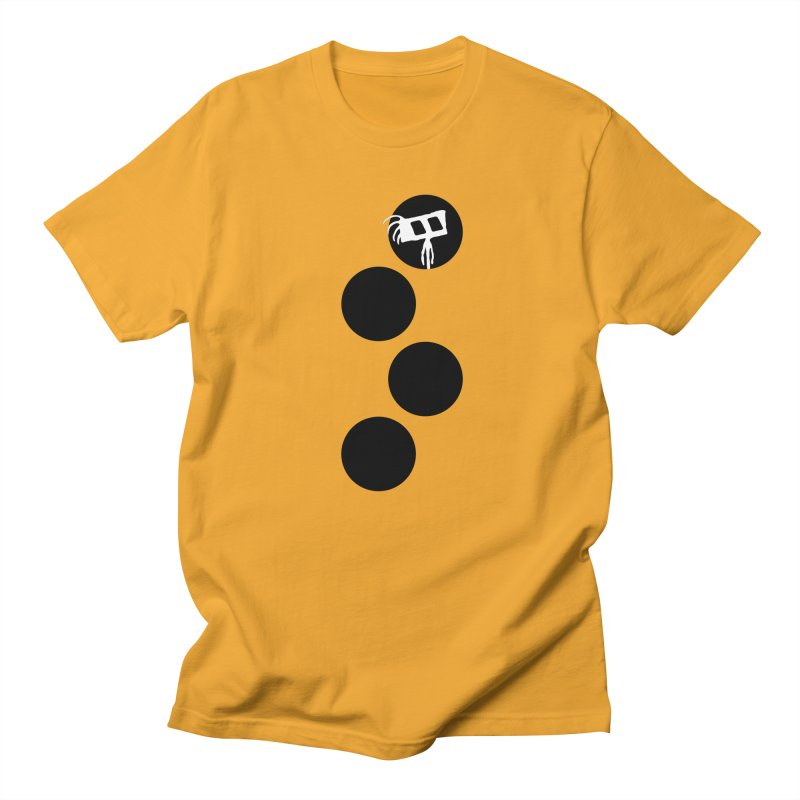 Sprites Dots Men's Regular T-Shirt by The Little Fears