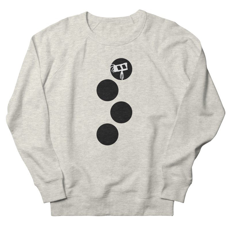 Sprites Dots Men's French Terry Sweatshirt by The Little Fears