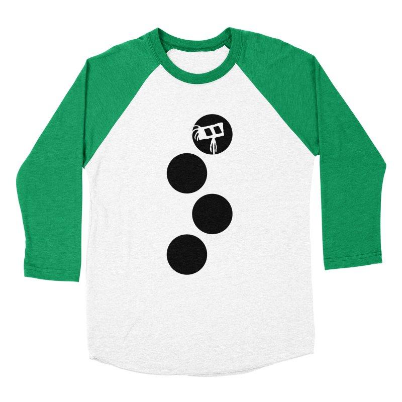 Sprites Dots Women's Baseball Triblend Longsleeve T-Shirt by The Little Fears