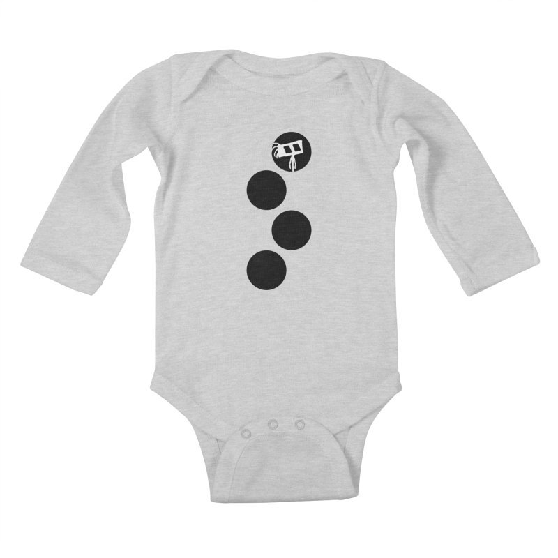 Sprites Dots Kids Baby Longsleeve Bodysuit by The Little Fears